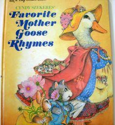 Cyndy Szekeres' Favorite Mother Goose Rhymes 1993 LoveVintageAlways