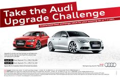 Audi A4 and Audi A6 Upgrade Challenge