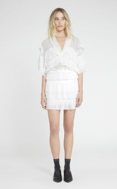 Buy IRO Women's White Rachelle Top, starting at $424. Similar products also available. SALE now on!