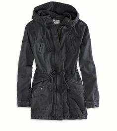 AE Hooded Utility Jacket