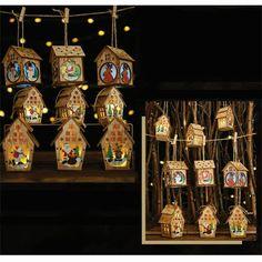 Ideas para navidad ¿Buscas manualidades navideñas? para realizar en estas fiestas con estas divertidas casitas de madera con luces led pued... Luz Led, Diy, Advent Calendar, Holiday Decor, Home Decor, Ideas, Xmas, Creative Crafts, Fun Projects