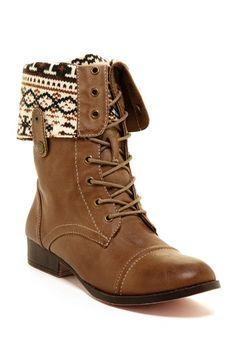 Foldover Cuff Boot