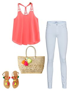 """First day of summer"" by summerloveforever335 on Polyvore featuring 7 For All Mankind and Lilly Pulitzer"