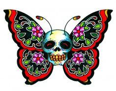 """<a href=""""http://www.tattoomenow.com/new/design/skull-butterfly-tattoo/"""" >Stencil & Download</a>"""
