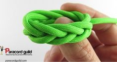 Spanish ring knot tutorial.