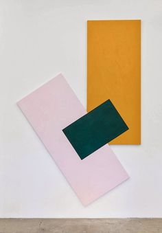 "artexpansion: ""Noam Rappaport, To be titled, 2013 "" Bedroom Color Schemes, Colour Schemes, Color Patterns, Colour Palettes, Yellow Color Combinations, Design Set, 2 Logo, Art Abstrait, Color Shapes"