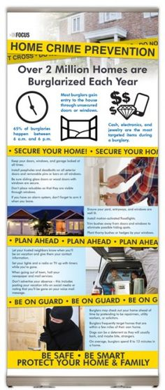 Home Crime Prevention - You can help to ensure the safety of your home, possessions, and family with these easy and affordable precautions.