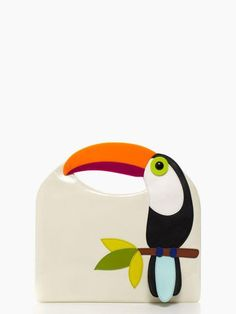 the conversation-starting handbag of the summer — the fine feather tansi by kate spade new york (may 2014)