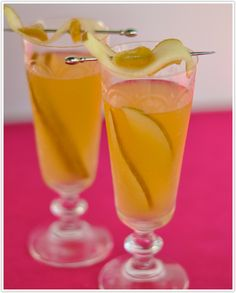 Ginger Pear Sangria