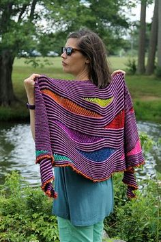 Ravelry: My Summer Song pattern by Lisa Hannes, for gradient sets fingering