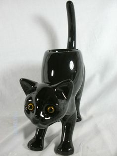 PARTYLITE BLACK CAT TEALIGHT HOLDER~P9415~NEW IN BOX