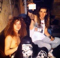 Dimebag Darrel and Phil Anselmo
