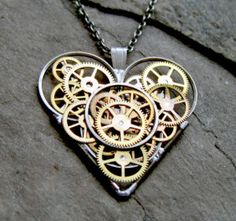 Clockwork Heart Necklace - This gorgeous mechanical heart shaped necklace would take the steadiest of hands to create, but if you are willing to put in the hard, delicate work, and get creative, you could have jewelry similar or the same as this without having to buy it from a shop! You may need to dismantle some old watches to get the right pieces for it though. You never know, you might find that creating this kind of fine art is a good hobby to spend some of your spare time on!