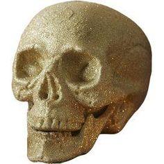 Shimmering Skull Decor