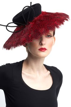 ''Dangerous Liasons'' Couture Millinery by Sylvia Fletcher - The Lock Hatters Fall / Winter couture collection