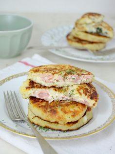 Tortitas de patata rellenas ¡Y dos ideas de relleno!