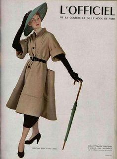 """Le """"New Look"""" de Dior, 1947"""