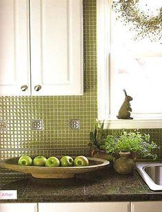 1x2 crema marfil mini subway tile backsplash installation in fishhawk lithia florida our - Exceptional backsplash kitchen interiors artistic look ...