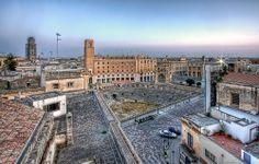 piazza sant'oronzo, lecce, salento, italia, italy
