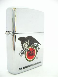 Lucky Strike Zippo lighter