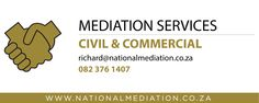 Mediation services offered - http://socialmediamachine.co.za/nationalmediation/index.php/2015/09/15/mediation-services-offered-2/