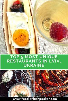 best restaurants in Lviv, Ukraine