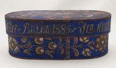 Bentwood Box [LC1192]  (Back)