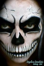 Image result for grim reaper make up