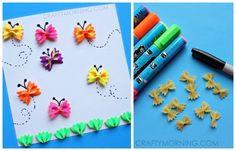 Bow-tie Pasta Butterflies