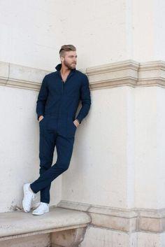 Mr turk blue jumpsuit