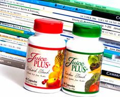 Learn why Juice Plus made sense to me; the most thoroughly and scientifically researched whole food product IN THE WORLD....it's not rocket science; just fruits and veggies in a capsule!  (smile)