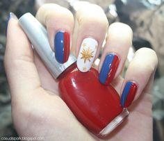 Philippine flag nail art pinterest philippines flag philippines flag nails prinsesfo Images
