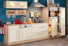 Küchenzeile »Keitum«, Breite 270 cm, mit Induktionskochfeld Jetzt bestellen unter: https://moebel.ladendirekt.de/kueche-und-esszimmer/kuechen/kuechenzeilen/?uid=3ee64f94-ffa2-589f-9aa3-cc4d317c1c4a&utm_source=pinterest&utm_medium=pin&utm_campaign=boards #küchenzeilen #kueche #kuechen #kuechenzeilen #esszimmer