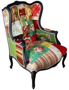 patchwork covered furniture patchwork furniture. Black Bedroom Furniture Sets. Home Design Ideas