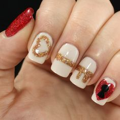 36 Cute Nail Art Designs for Valentine's Day Great Nails, Fabulous Nails, Gorgeous Nails, Cool Nail Art, Love Nails, Minimalist Nails, Valentine Nail Art, Valentines, Cute Nail Art Designs