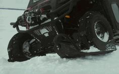 Don't put your Polaris Ranger away for the winter! Tackle harsh winter conditions with the SnoCobra Ski System for your Ranger. Strap on your skis for a winter full of #UTV fun and keep working when weather is wicked. $1299.00 http://www.sidebysidestuff.com/snocobra-ski-system---polaris-ranger.html