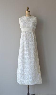 Lale Devri wedding gown 60s lace wedding dress by DearGolden