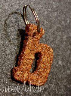 DIY cork key chains