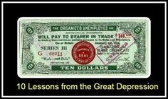 10 Facts About the Great Depression and how it can help you