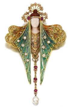 Georges Fouquet Art Nouveau Brooch