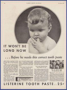 Vintage 1931 LISTERINE Toothpaste Dental hygiene Print Ad 30's #Listerine Retro Advertising, Retro Ads, Vintage Advertisements, Vintage Ads, Dental Hygiene, Teeth Cleaning, Print Ads, Vintage Beauty