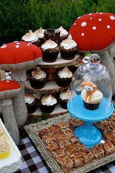A Woodland Theme - Birthday Party Ideas