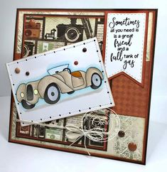 """High Hopes Rubber Stamps """"Ron's Royce"""" by CheriB Designs"""