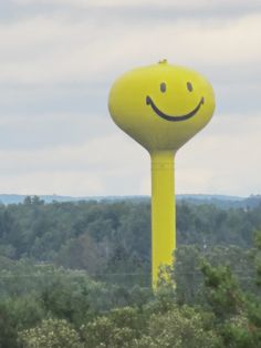 *Happy Face Water Tower