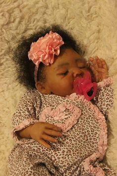 Custom Order Ethnic AA Reborn sleeping biracial Baby Doll | Dolls & Bears, Dolls, Reborn | eBay!