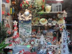 La nostra vetrina Natale 2014 www.rp-creazioni.it