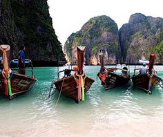 Need a beach getaway? Head to Maya Bay, Koh Lanta, Thailand