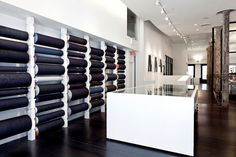 """●Jeans Store New Yok City """"The 3x1 Way"""" Design your own Jeans : love the concept"""