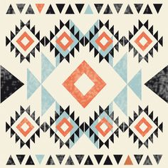 navajo triangles - Details - Envelop