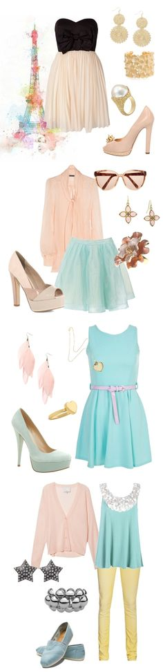 Pastel/Fashion/Autumn/Fall/Woman/Girl